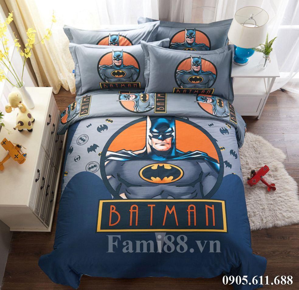 Chăn ga gối hình Batman