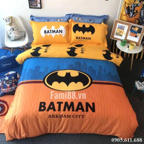 Chăn ga gối hình người dơi Batman