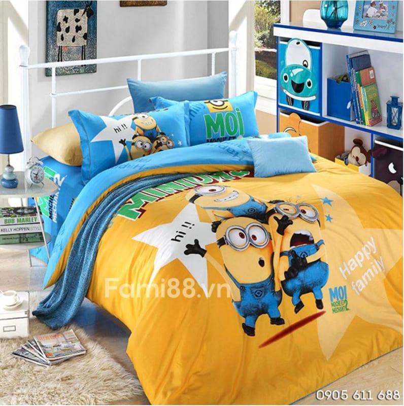 Bộ ga giường Minion