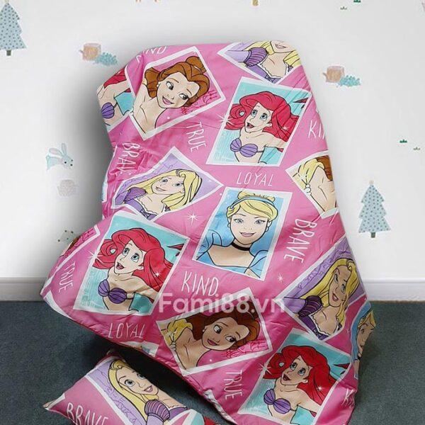 Mền cho bé hình công chúa