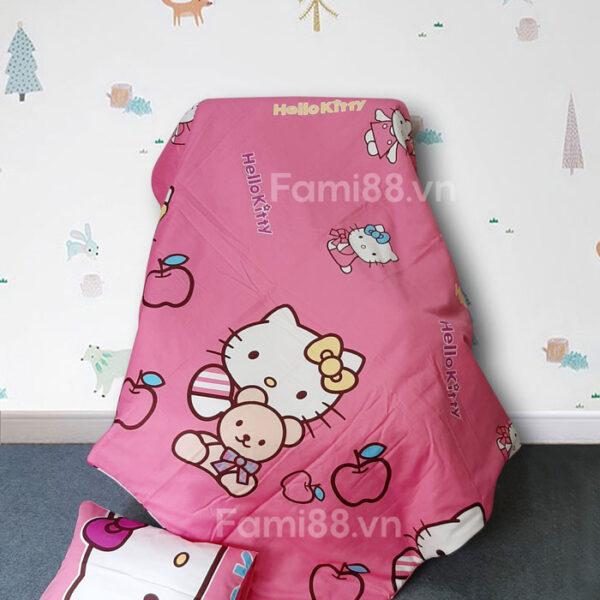 Mền cho bé hình Hello Kitty